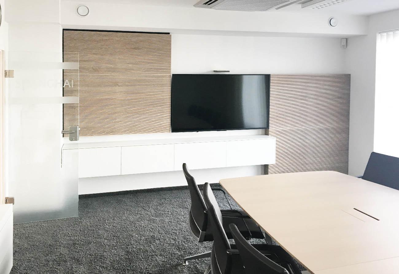 Besprechungsraum-Büro-Entwurf