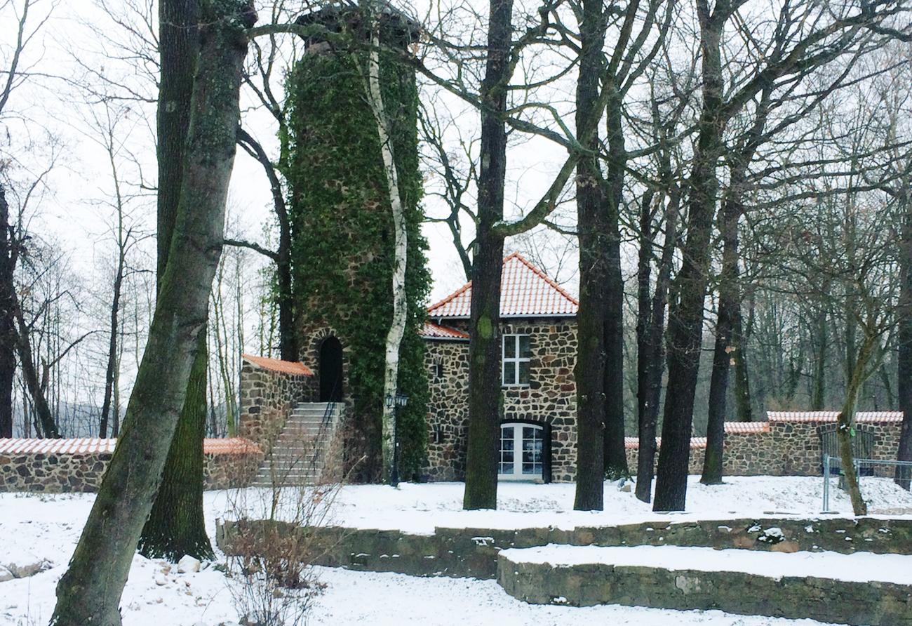 Turmhaus-Innenarchitektur