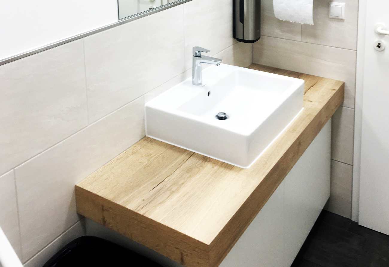 WC-Büroumbau-Umsetzung