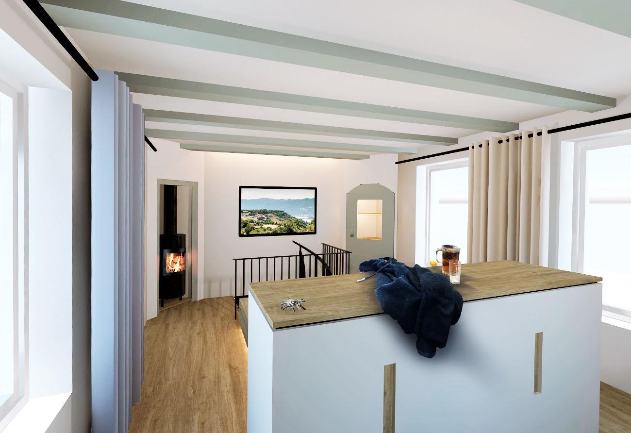 Galerie-Schlafzimmer-Interior-indirektes-Licht