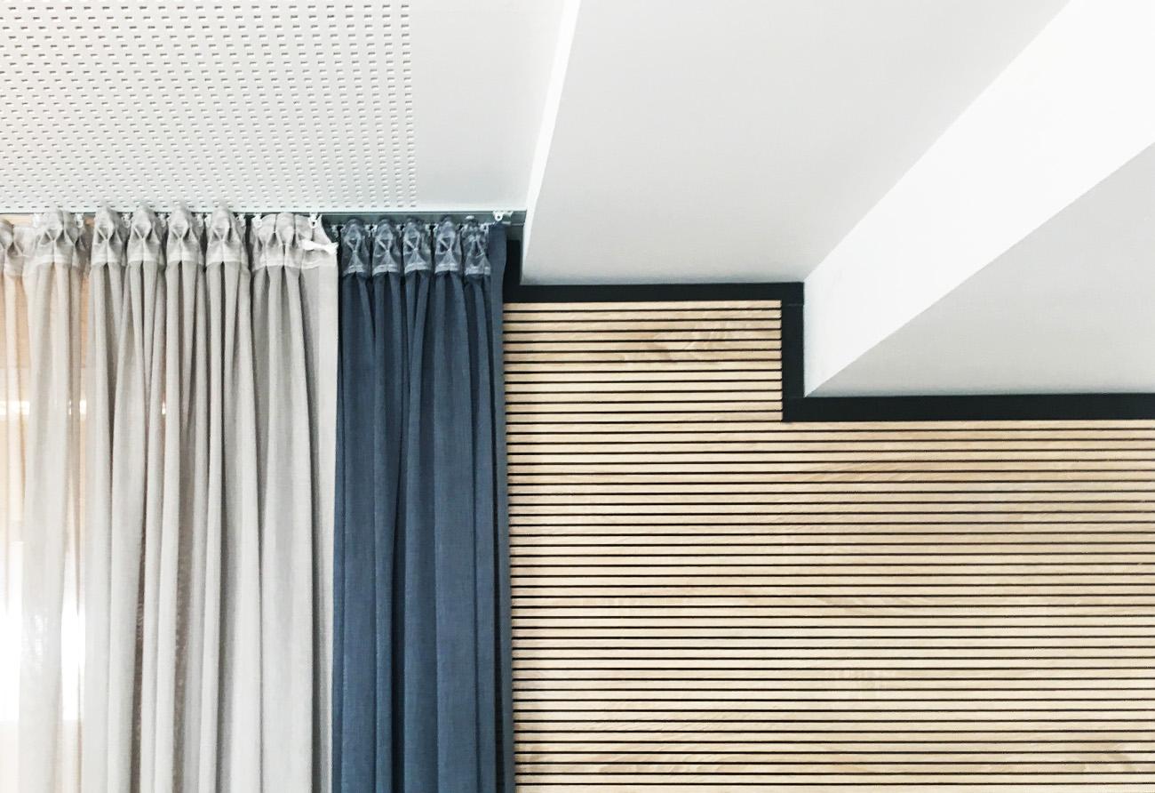 Materialien-Büro-Innenarchitektur