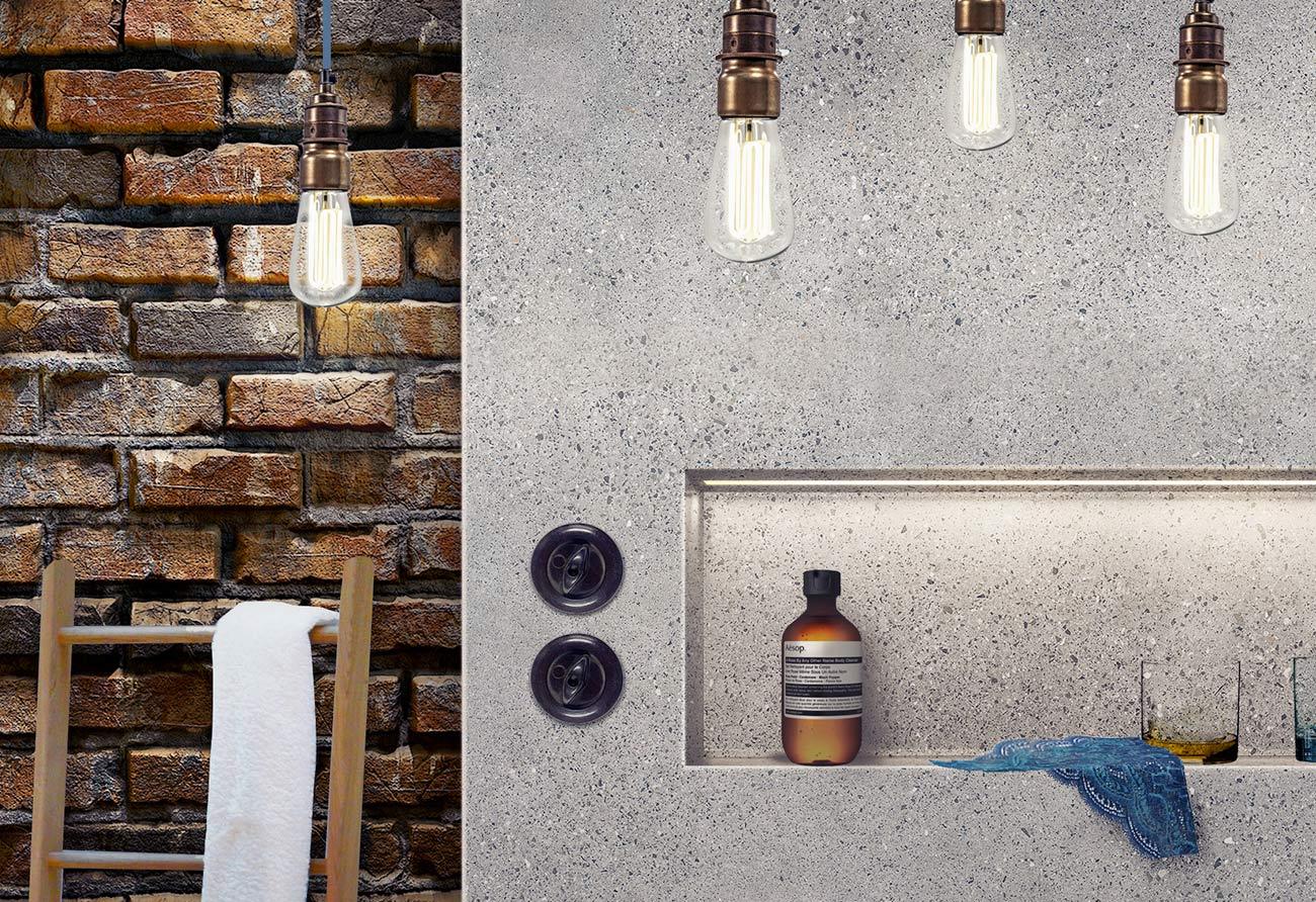 Bad-Beton-Backstein-indirektes-Licht
