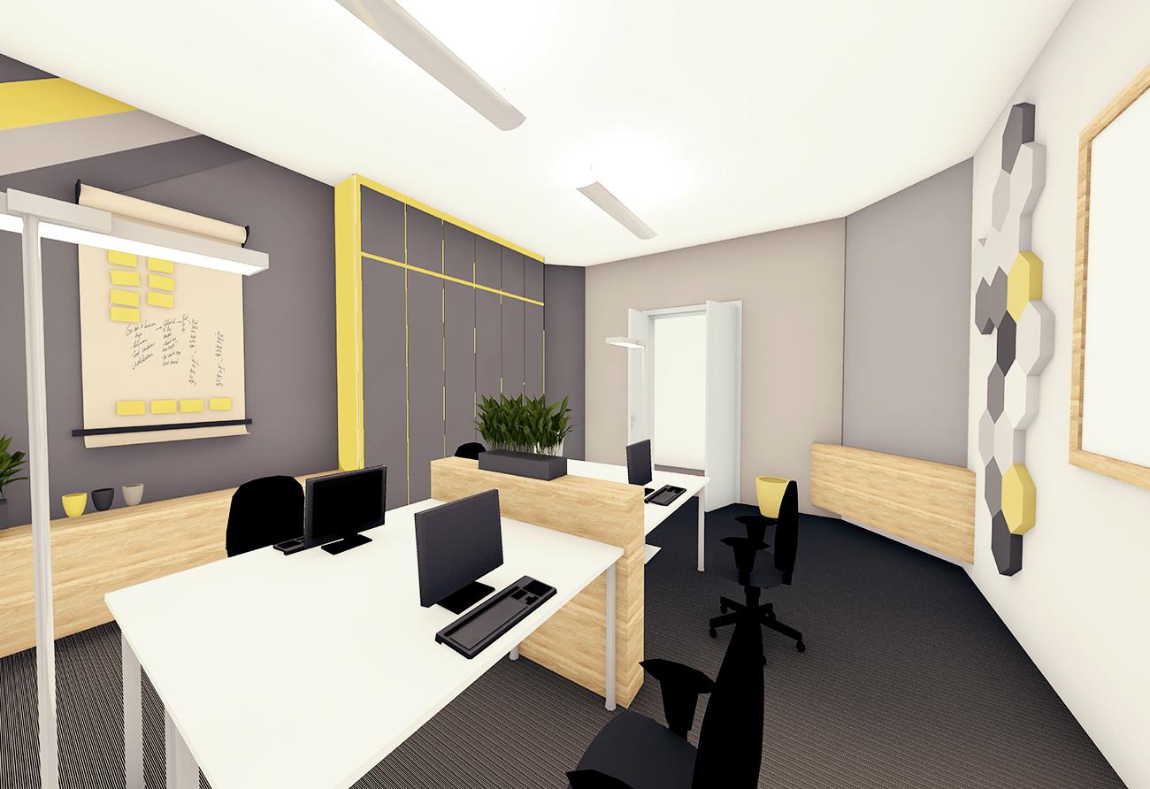 Büroumbau Dittrichring • Planung von Büroräumen• Büroplanung