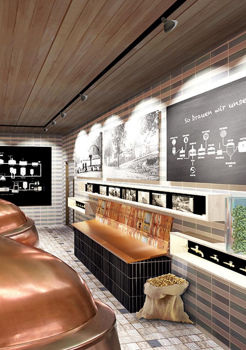 Ausstellung Design Brauerei Innenarchitektur Leipzig