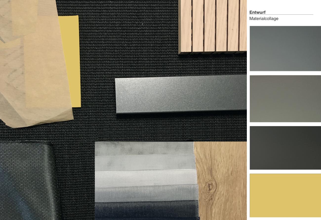 Materialien Büro Lichtplanung Innenarchitektur Leipzig