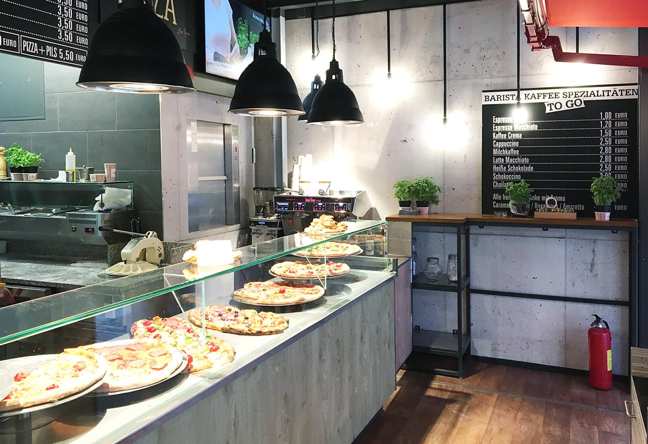 Gastronomie Pizzeria Lichtplanung Innenarchitektur Leipzig