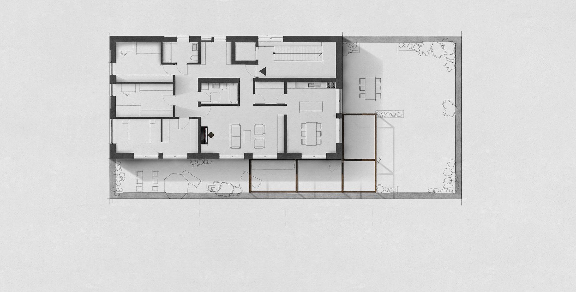Grundriss zeichnen lassen Innenarchitekt Leipzig