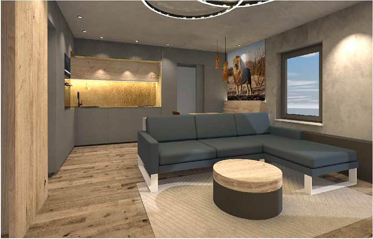Apartment S Leipzig Innenarchitektur